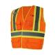 """GANKA-Veste de sécurité haute visibilité avec bandes réfléchissantes de 4""""."""